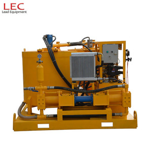 China double cylinder piston diesel cement grout pump and mixer for sale
