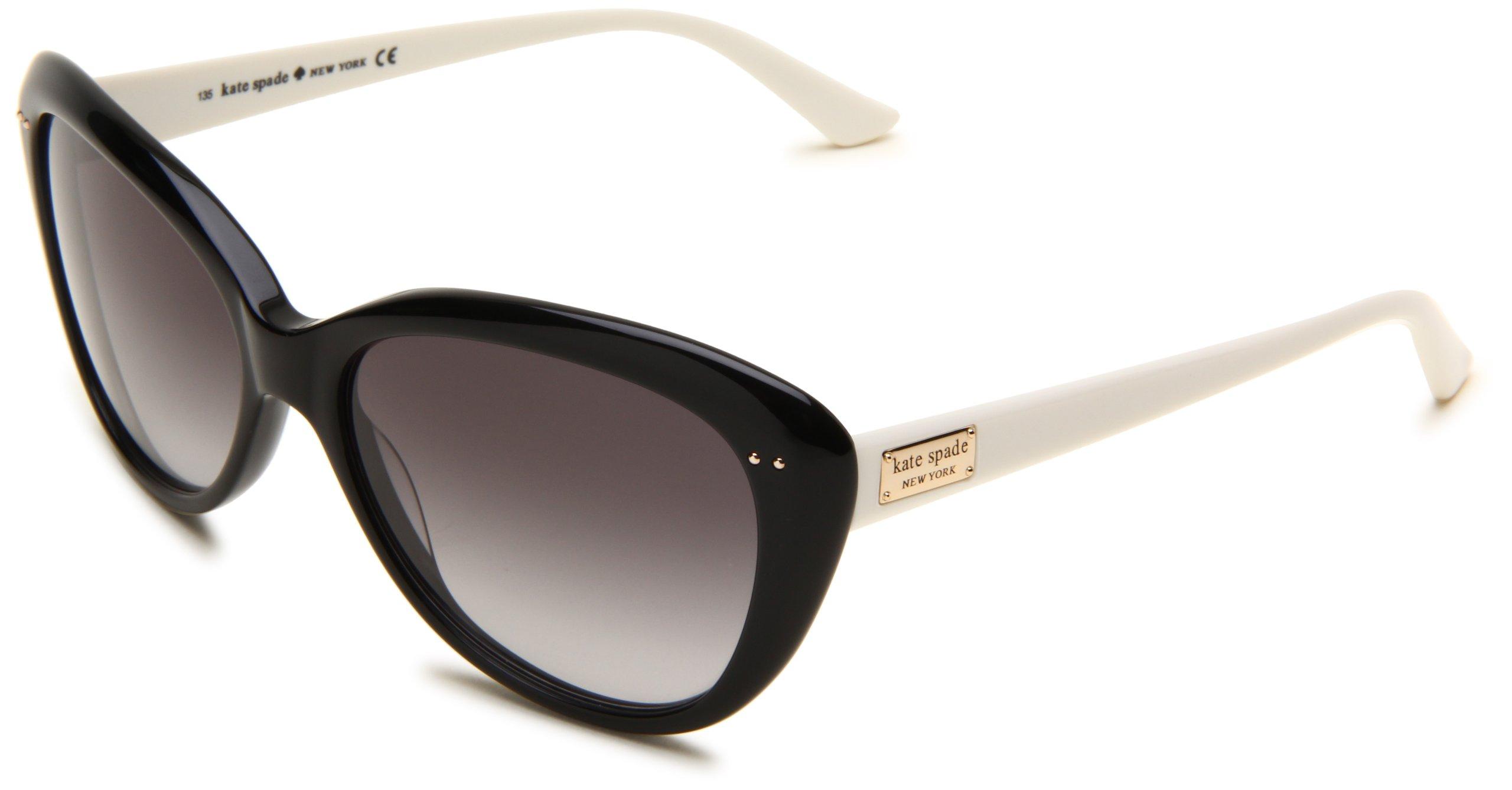 e5902ef21a Get Quotations · Kate Spade New York Angelique Cat-Eye Sunglasses