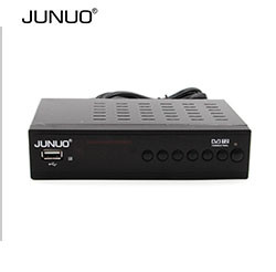 JUNUO Shenzhen MINI HD IPTV DVB-S2 Pakistan Satellite Receiver with WIFI