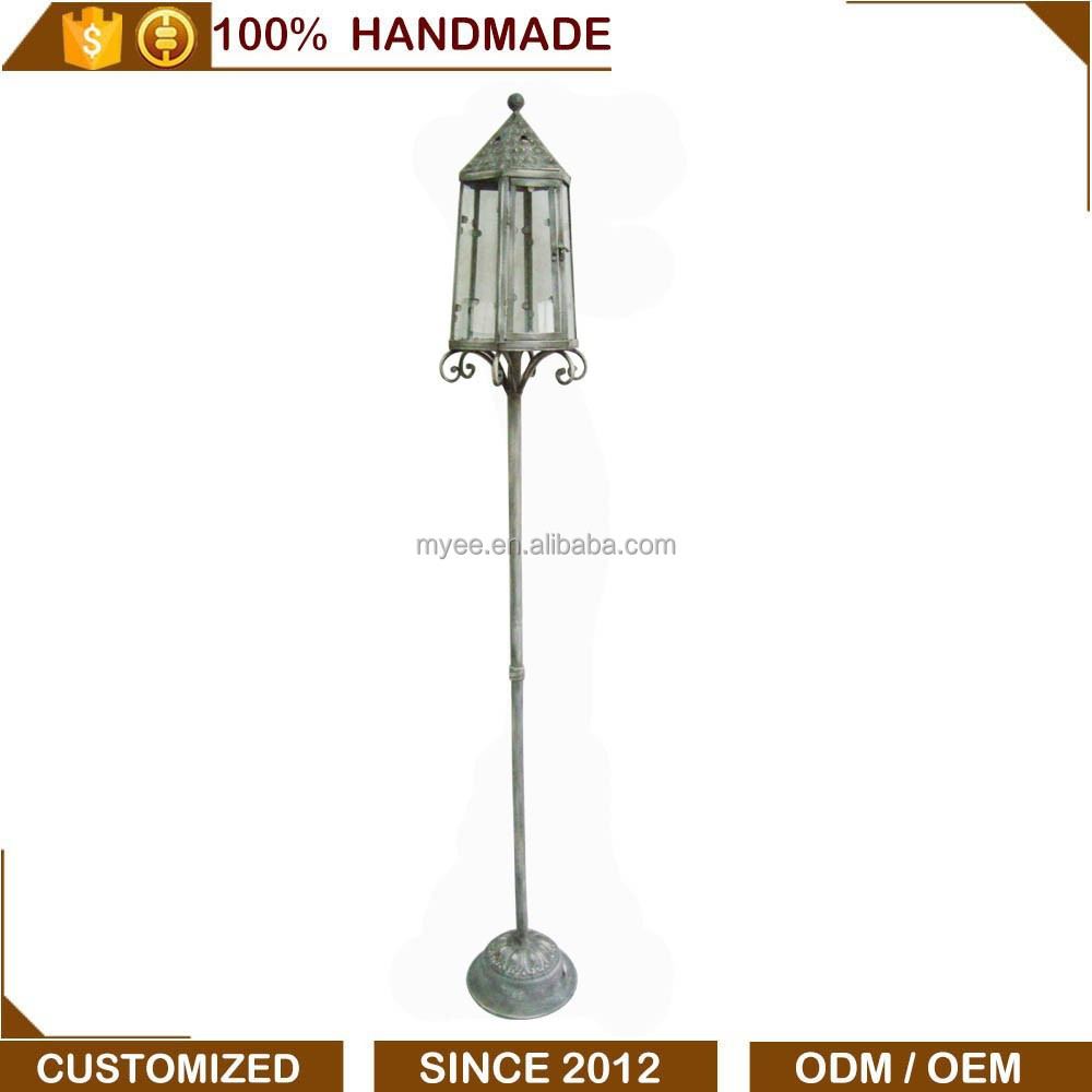 Decoration European Style Metal Garden Candle Lantern