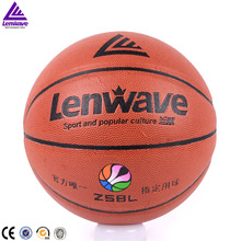 Lenwave brand customized basketball high quality size 7 basketball wholesale