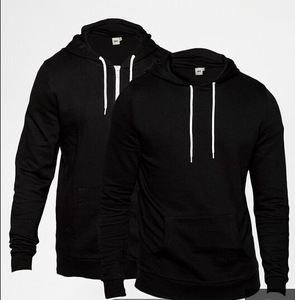 China factory wholesale blank men's hoodie custom design