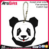 Factory direct sale custom soft pvc animal keychain