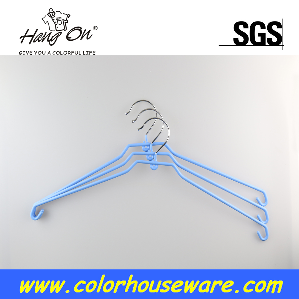 Multifunction pvc coated hanger