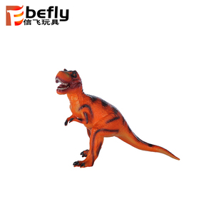ECO animal figure plastic toy T Rex dinosaur with IC