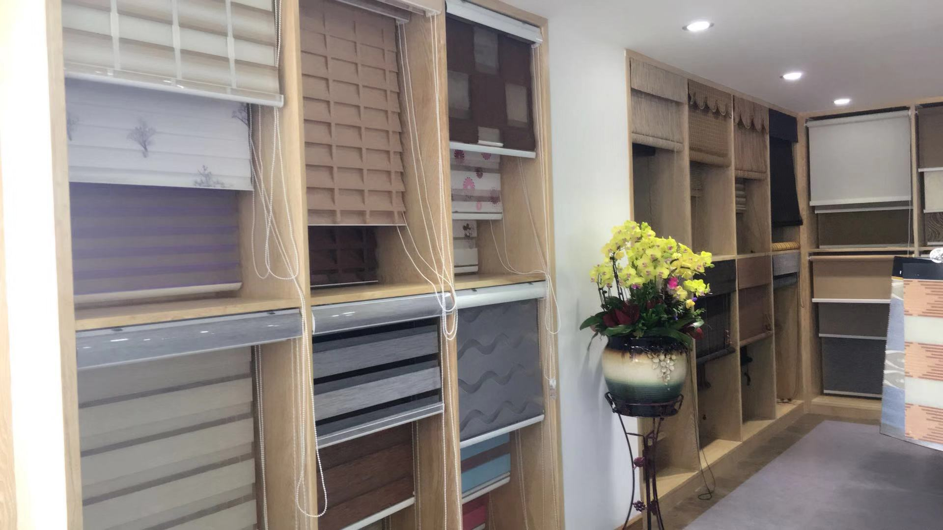 Haoyan sunscreen or blackout polyester fabric pull up window shades blinds lazada offer