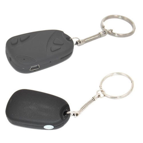 808 Car Keychain Style Camera Support Digital Car Key Video Recorder 30fps