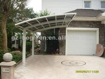 Freesky Aluminum Carport Garage Portable Motorcycle