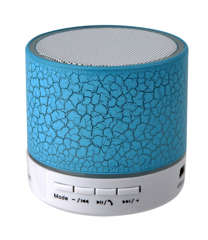 .Wireles LED Mini portable S10 A9 crackle texture Bluetooth Speakers Support TF Card U disk for mobile phone Music player