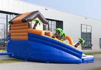 2015 new design inflatable water slide giant inflatable water slide for adult