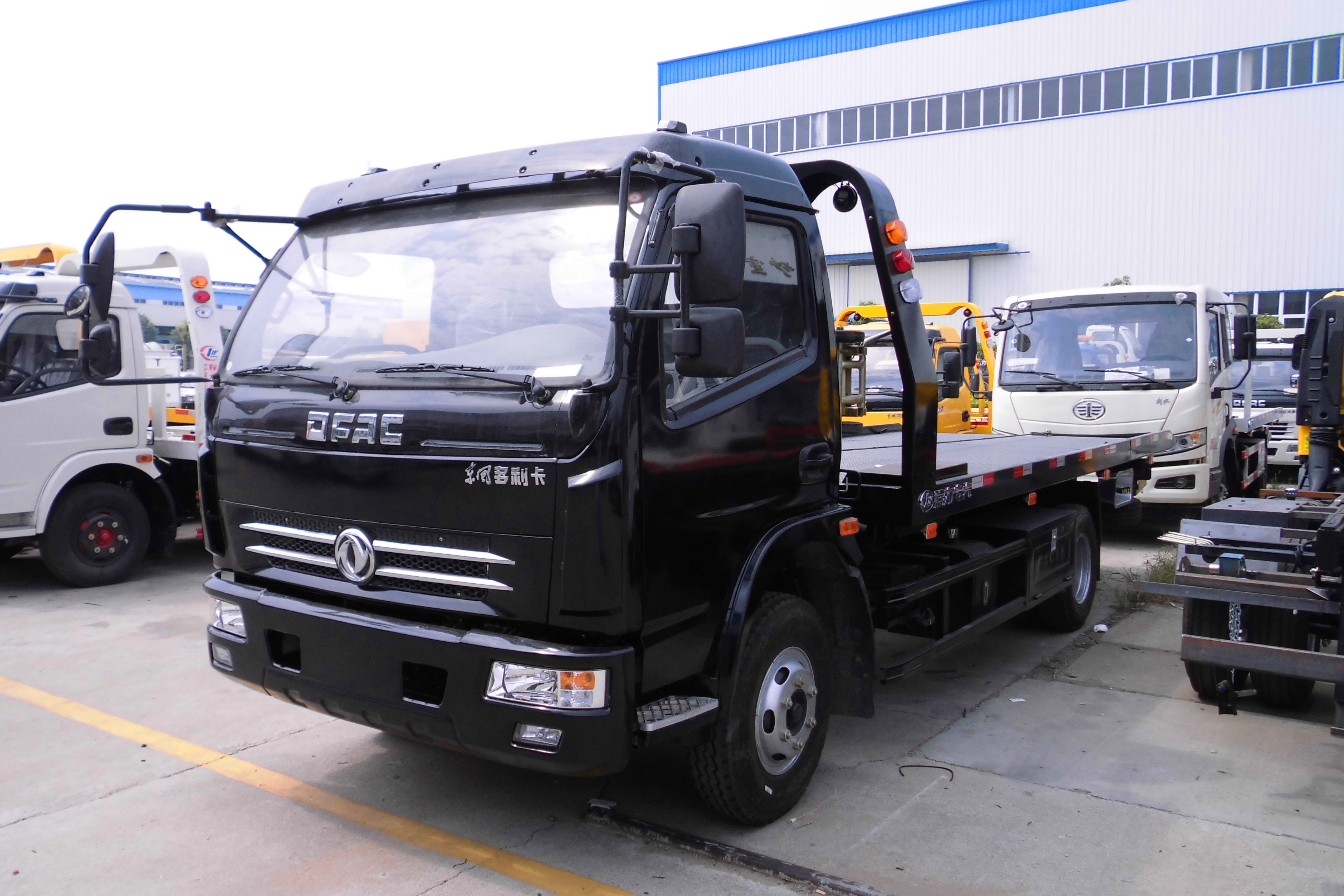 China Cheap Slide Bed Tow Truck for Sale in India