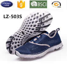 China wholesale breathable light weight sneaker outdoor sports hiking mesh water shoes sport women men woman casual shoe 2017
