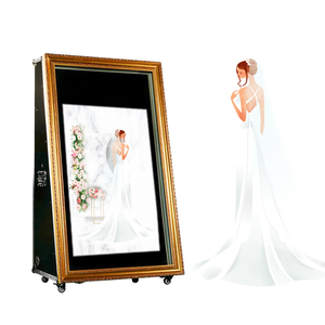 Hot Sell Admirable Wedding Photobooth Magic Mirror Photo Booth Enclosure Case
