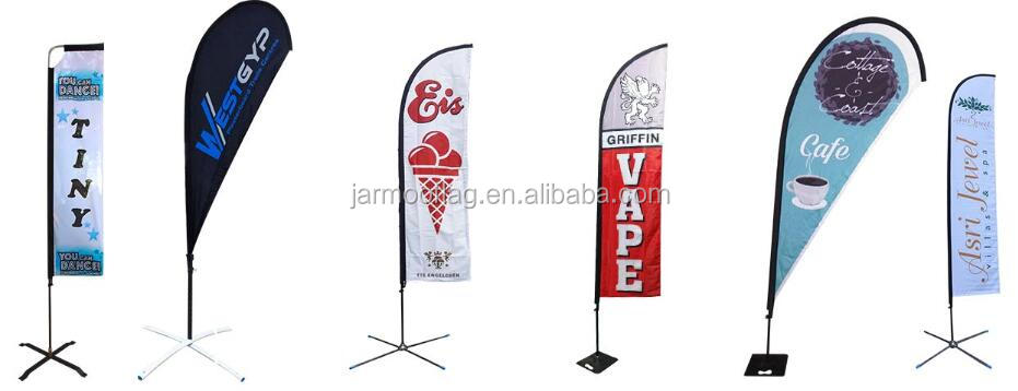 Factory Cheap On Sale Stock Batch Flagbase Beach Flag Feather Teardrop Flag Accessory Support Base Install Flag Base