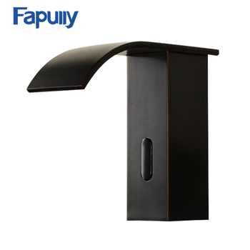 Fapully Sensor Tap Bathroom Black Waterfall Automatic Auto Faucet Sensor  Circuit - Buy Auto Faucet Sensor Circuit,Automatic Sensor Faucet,Waterfall