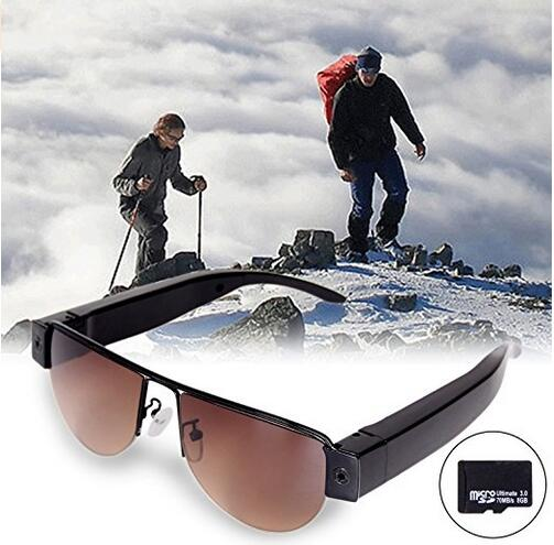 Full HD 1080P Video Sunglasses Mini Camera Eyewear DVR hidden Camcorder