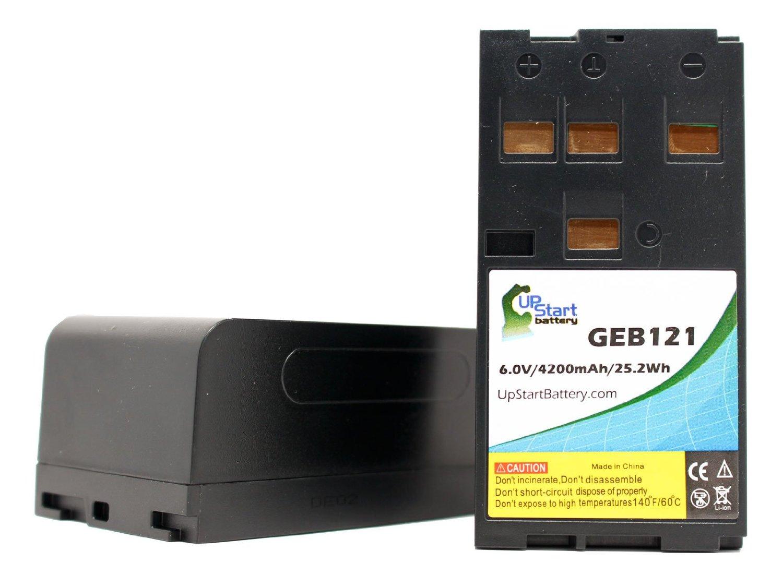 AKKU BATTERIE ACCU 6V 4200mAh für LEICA TCR803 Power TCR805 Power