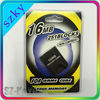 New Factory Price Memory Card 16MB for Game Cube