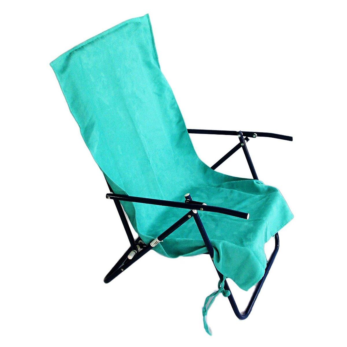 2 Pack Lounge Lizard Teal Quick Dual Dry Beach Sand Chair Cover