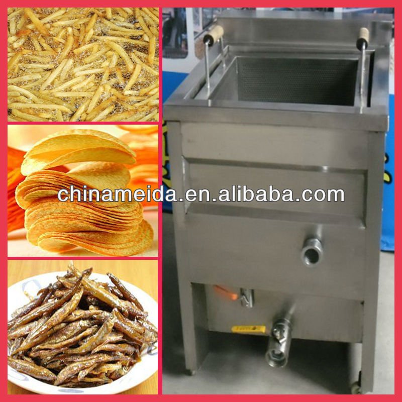 French Fries Onion Chicken KFC Automatic Fry Ice Cream Potato Chip Donut Stainless Steel frying machine