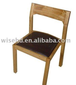 w-c-537) Solid Wood Designer Restaurant Chairs