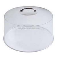 12-Inch Clear Round Acrylic Cake Stand Cover