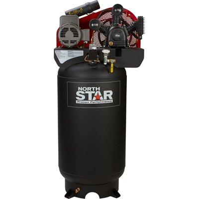 - NorthStar Electric Air Compressor - 5 HP, 80-Gallon Vertical, 230 Volt, 14.9 CFM @ 90 PSI