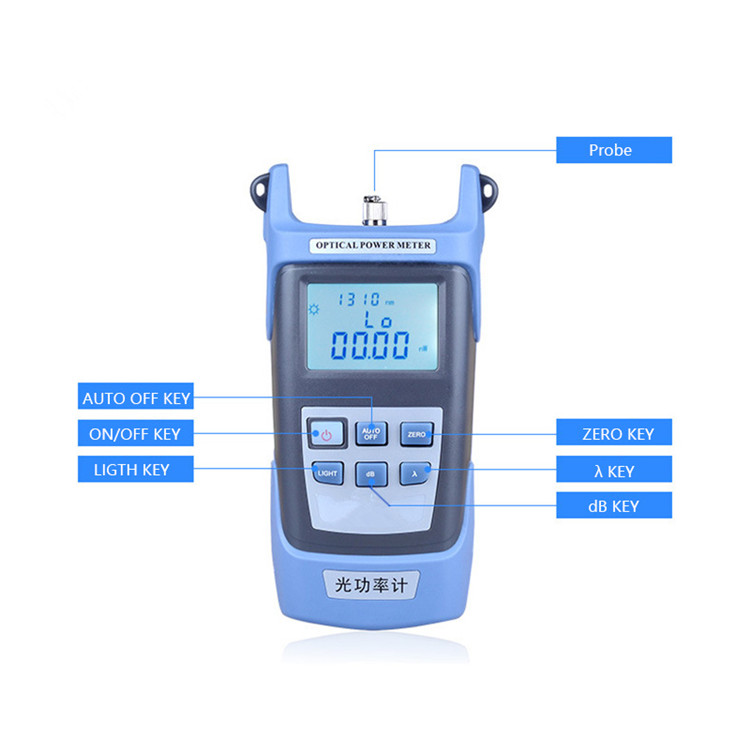 Factory price 휴대용 handheld 빛 source fiber optic power meter 광 multi-meter 와 Visual fault 로케이터