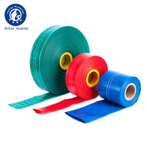 Blue Flexible PVC Lay Flat Pipe/ PVC layflat discharge Hose