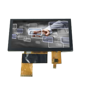 TFT LCD 5 inch transparent projector lcd panel with 800 x 480 resolution RGB interface