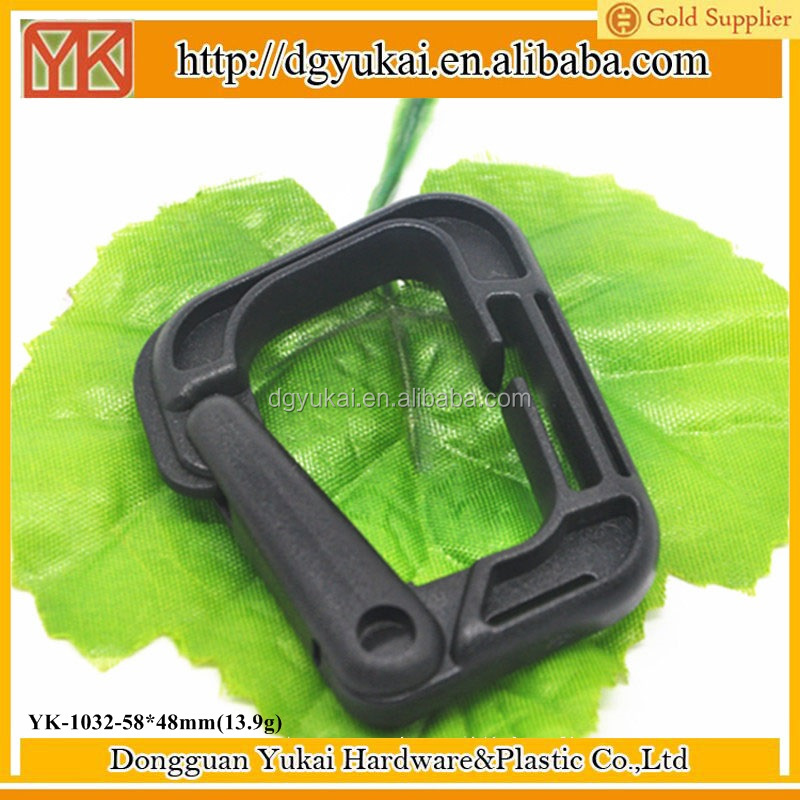 Yukai High-quality Plastic Buckles Strap Clip Belt Keeper wholesale