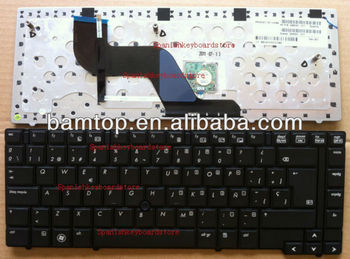New arrivals Notebook Spanish keyboard For hp Elitebook 8440 8440P 8440W 598042-071 594052-071