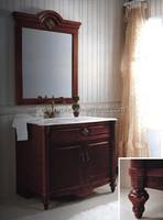 American Design Bathroom Cabinet,Single bowl Bathroom Vanity,Traditional Style Bathroom Furniture Mirror(BF08-4388)