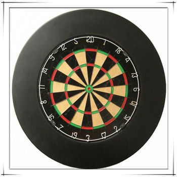 Sisal Fiber Bristle Dart Board With Surround