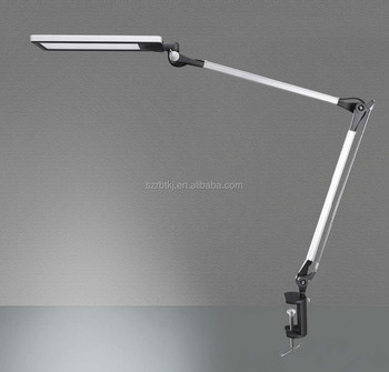 Metal Architect Swing Arm Led Desk Lamp Table With Clamp Eye Care