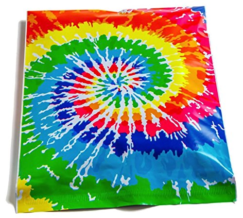 (25) 10x13 Designer Tie Dye Poly Mailers By Upaknship