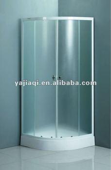 Merveilleux On Sale Promotion 4 6mm Mat Tempered Glass Cheap Simple Enclosure Cabin De  Douche Dubai