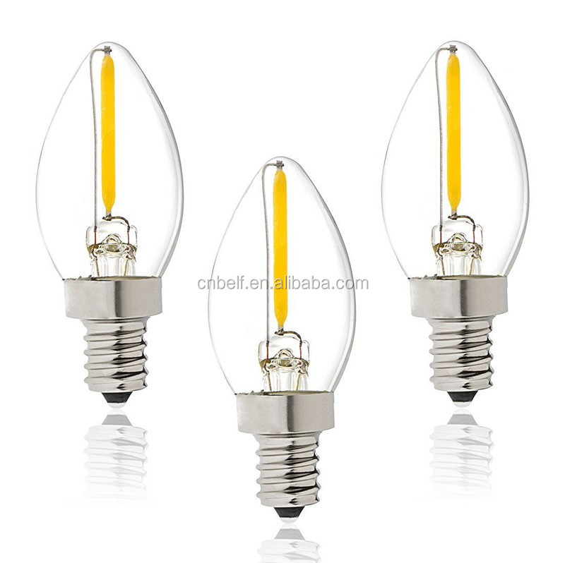 c7 glass led night light bulb 120v e12 buy led night. Black Bedroom Furniture Sets. Home Design Ideas