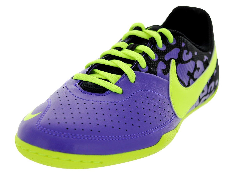 low cost f3fd6 0545e Get Quotations · Kids Nike Jr Elastico II Indoor Soccer Shoe Pure  Purple Black Volt