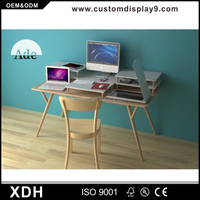Customized wood writing desk home office study computer desk
