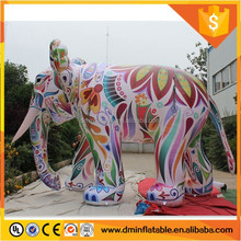 3m(10ft) Colorful Inflatable elephant for sale