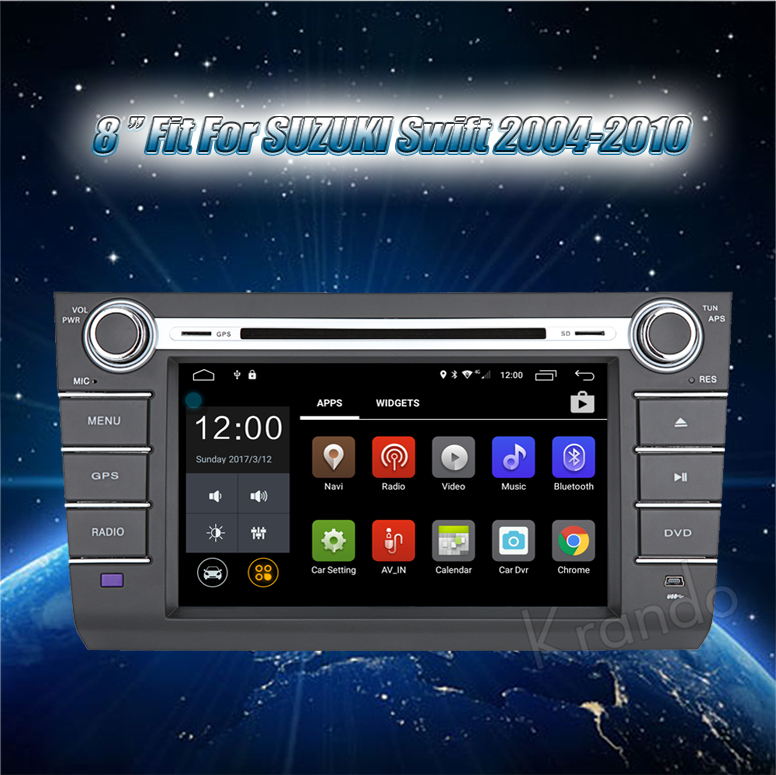 for Suzuki Swift car multimedia system