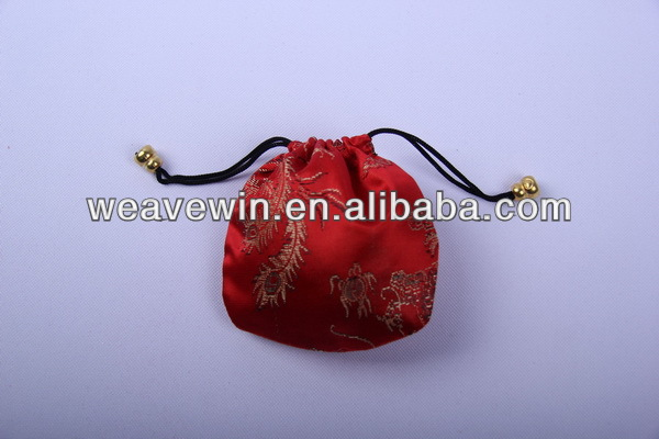 Chinese blossom small jewelry bag