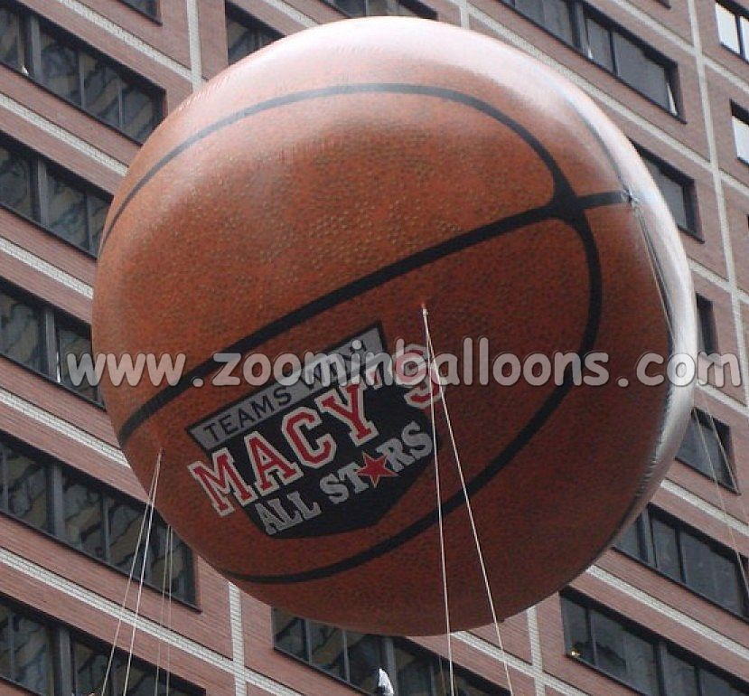 basketball helium balloon, helium basketball N1018
