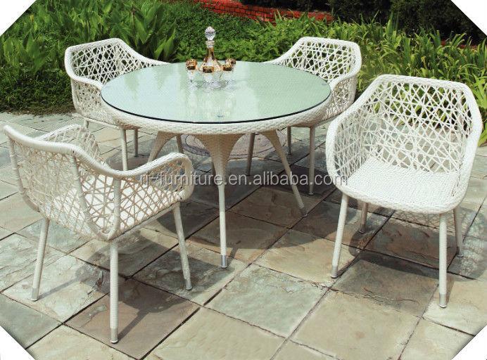 Giardino Set Di Tavolo E Sedie Per Portico/bronzo Sedia Da Pranzo In  Metallo/mobili Da Giardino In Alluminio Pressofuso Tavolo Da Pranzo Rotondo  Kd ...
