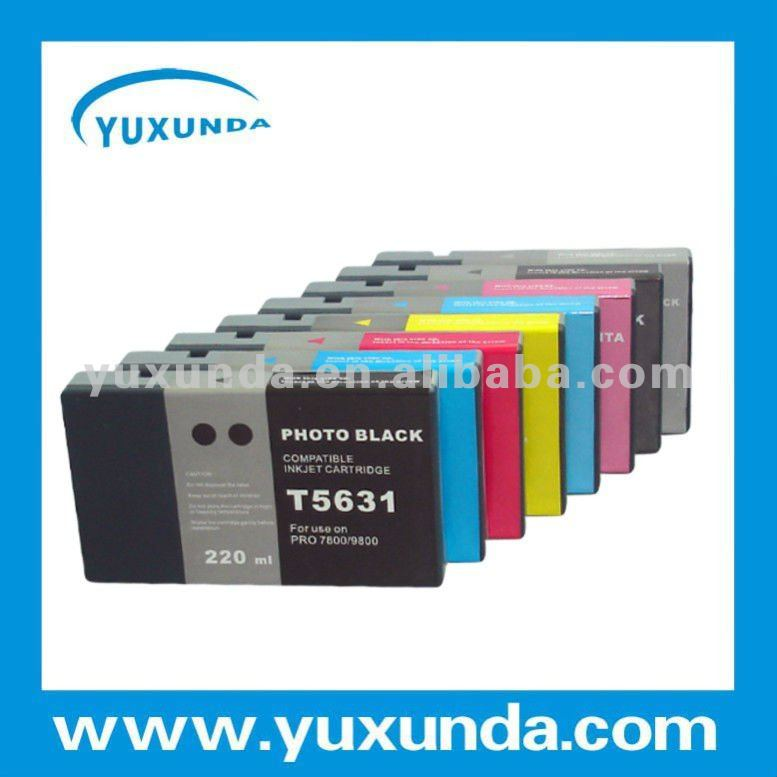 stable compatible ink cartridge for Epson 9800