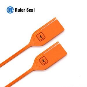 REP710 numbered printed metal insert plastic container security seals