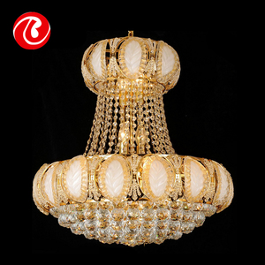 China manufactory best quality russian style crystal chandelier lighting