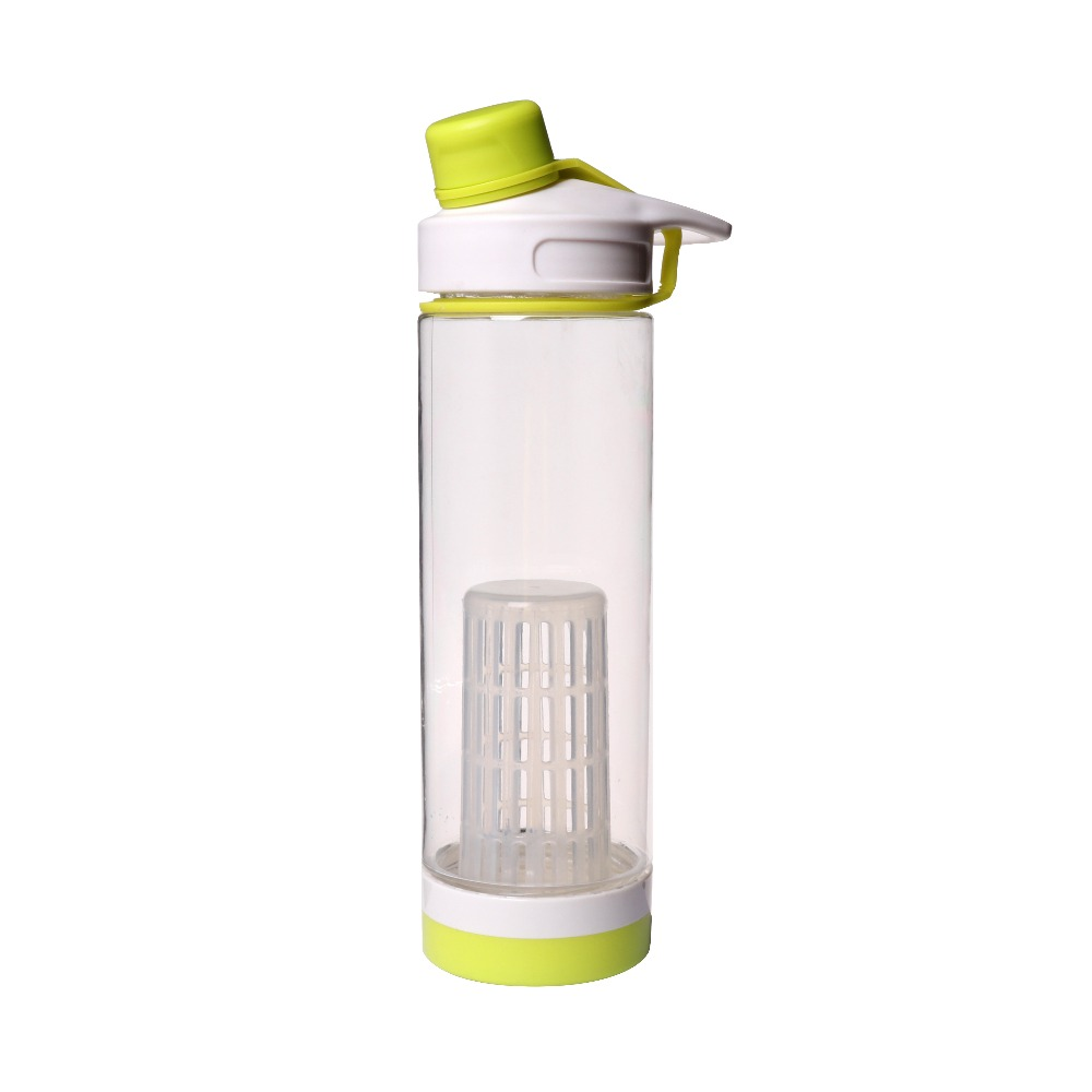 Professional Design Premium Tritan Material Infuser With Built Fruit Juice Zafos Copper Bottle Custom Water Bottles