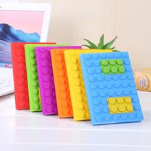 Uchome 2019 Hot Jual Cute A6 Bulat <span class=keywords><strong>Blok</strong></span> Silicone Cover Kertas <span class=keywords><strong>Notebook</strong></span>
